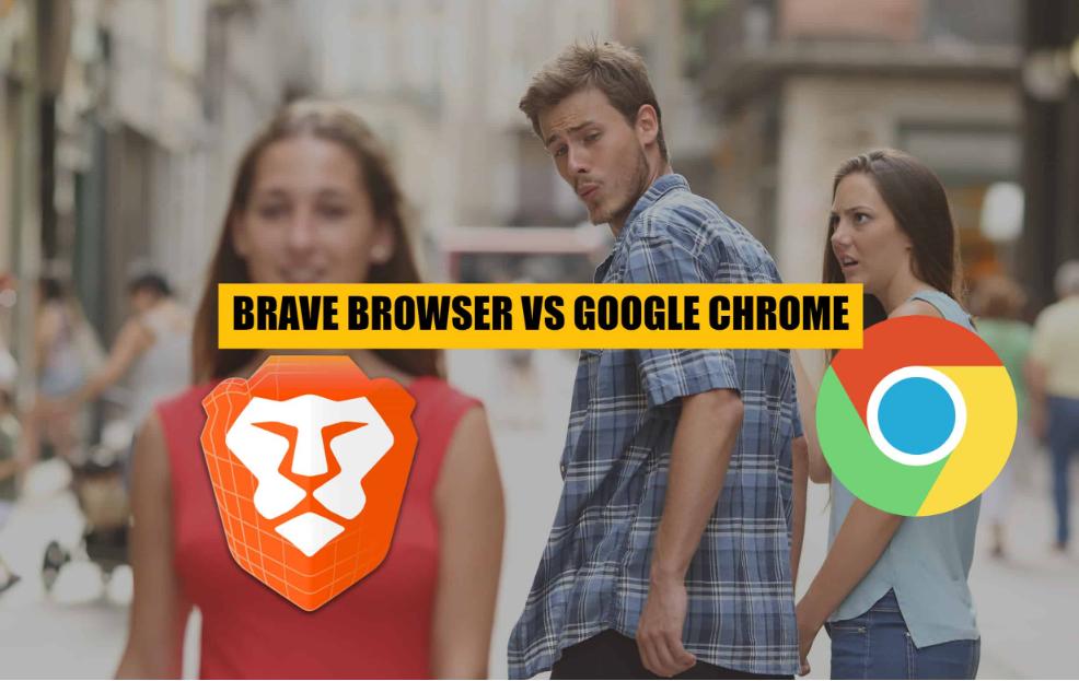 Brave với Chrome