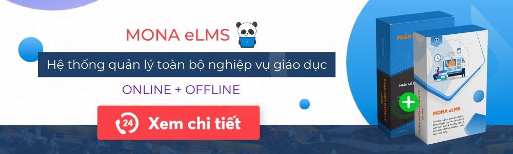 Phần mèm giáo dục Mona eLMS
