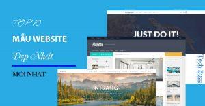 Top 10 mẫu website đẹp nhất thế giới.