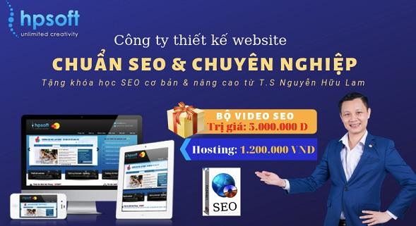 Thiết kế website HPsoft