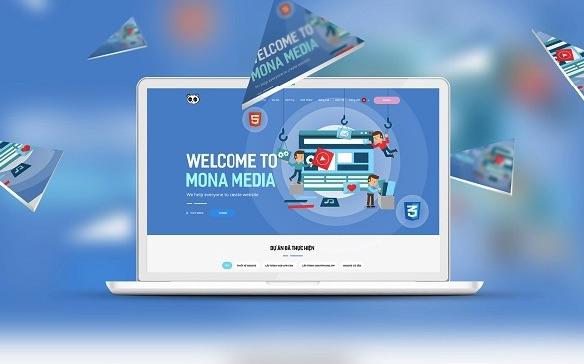 Mona media - mở rộng dự án thiết kế web Cà Mau