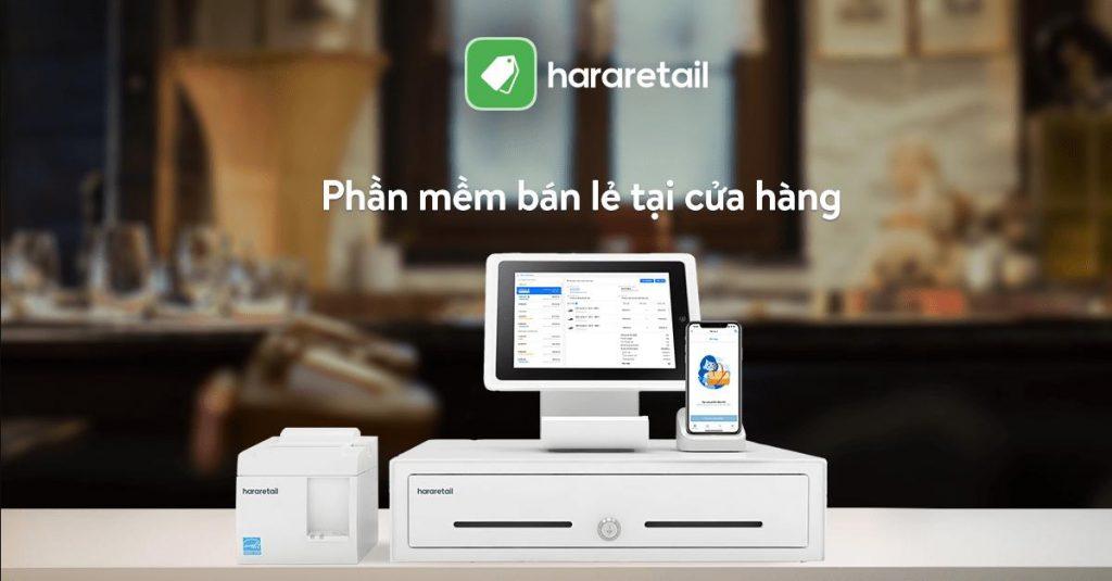 phần mềm quản lý Hararetail