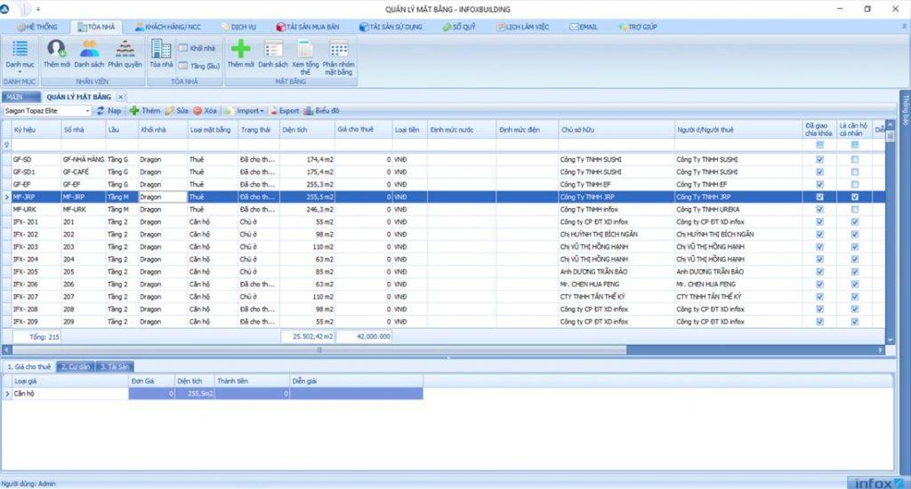 phần mềm quản lý BĐS SmartLand