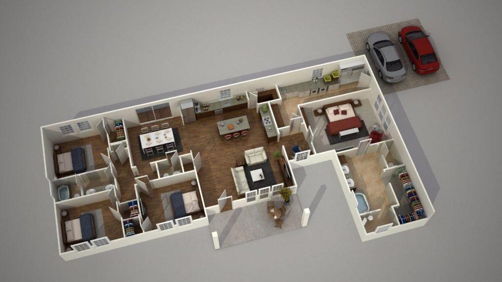 Phần mềm thiết kế nhà 3D Home Design