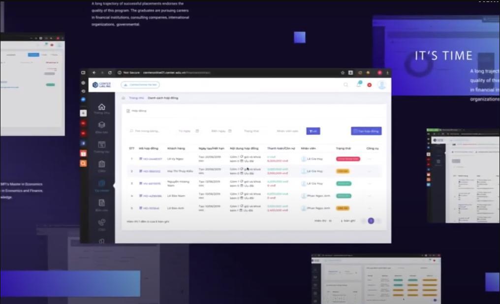 Phần mềm quản lý Centre Online