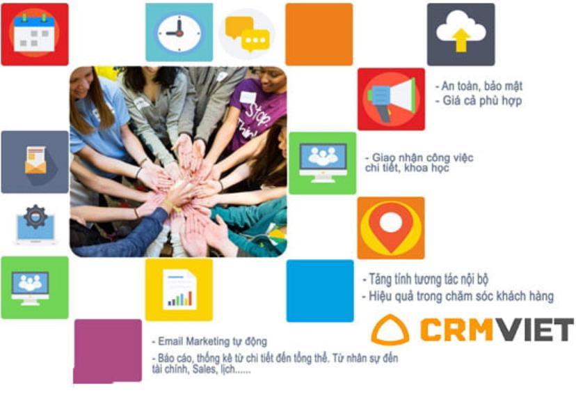 Phần mềm quản lý trung tâm CrmViet