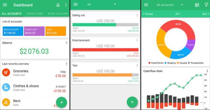 phần mềm quản lý tài chính Money Manager
