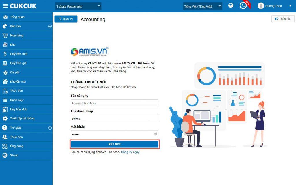Phần mềm kế toán Amis