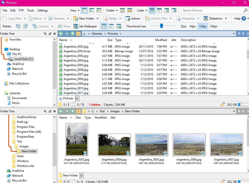 phần mềm quản lý file máy tính Directory Opus