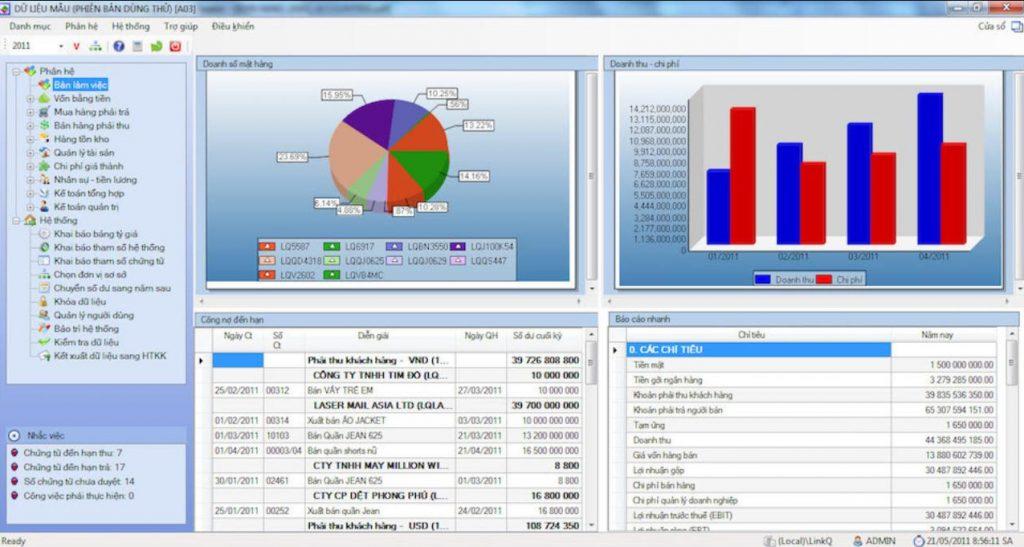 phần mềm kế toán online là gì
