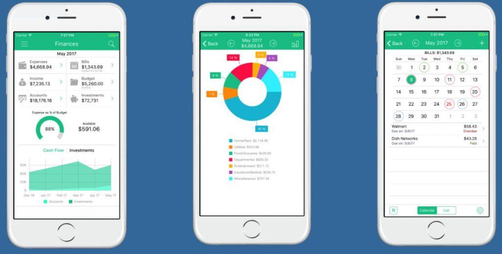 App quản lý chi tiêu bằng HomeBudget
