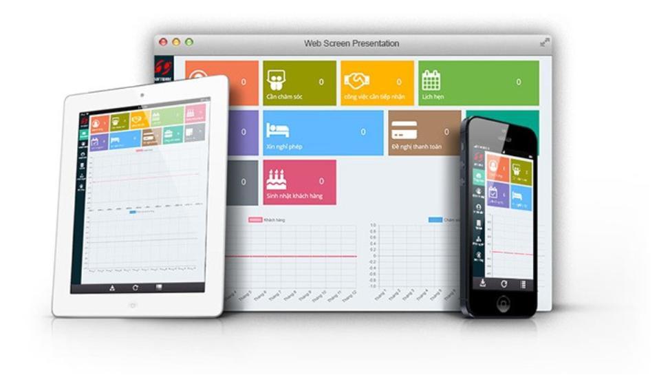 Phần mềm quản lý khách hàng online Halozend CRM