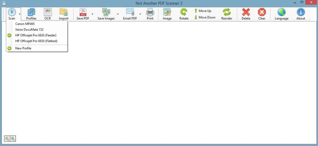 "Phần mềm scan ảnh ""Not Another PDF Scanner 2"""