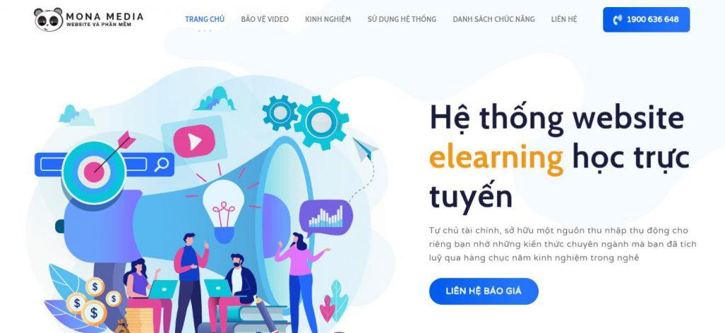 Thiết kế website học trực tuyến t