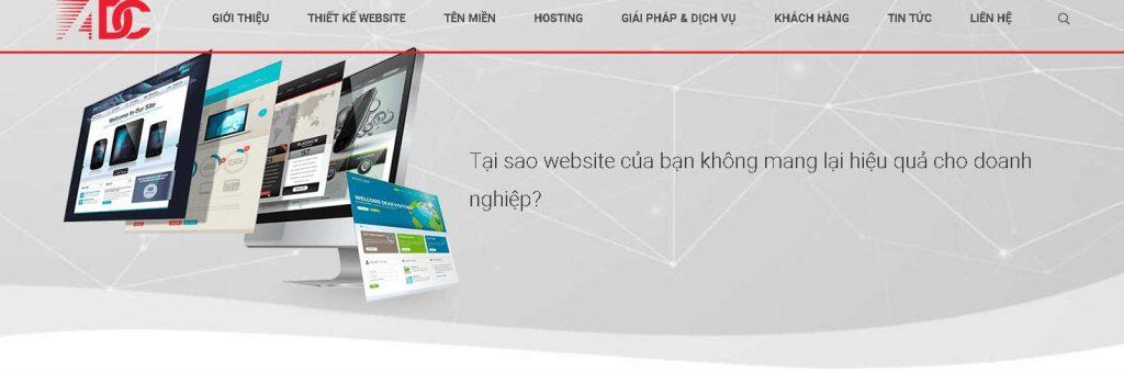Dịch vụ làm website chuyên nghiệp ADC