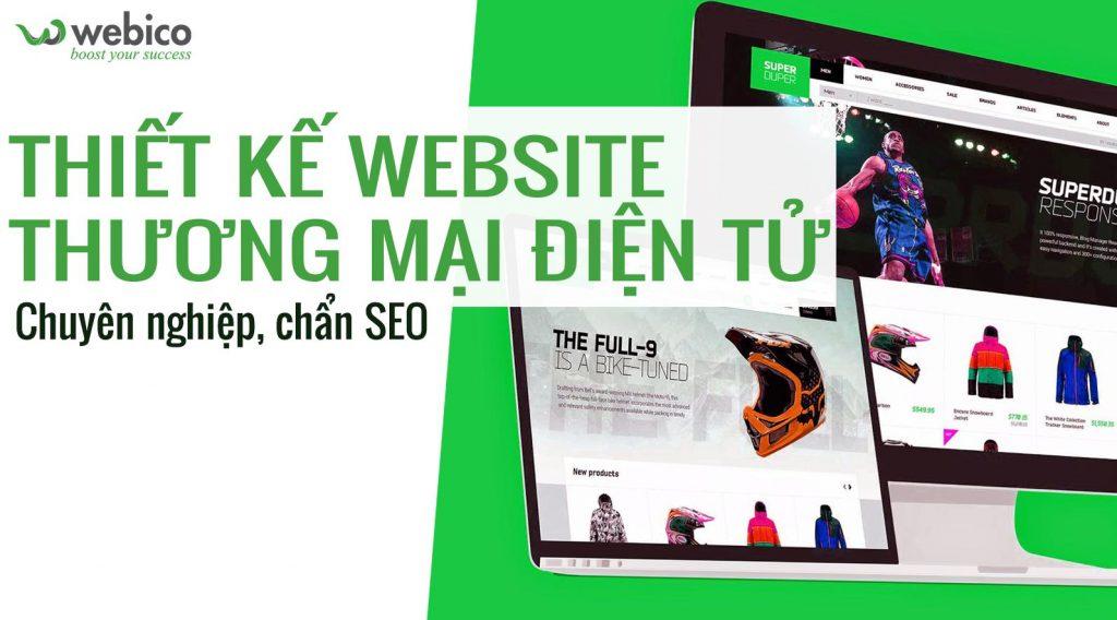 Webico - Dịch vụ công ty làm website chuẩn SEO
