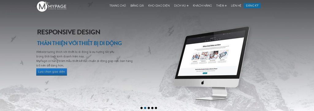 Dịch vụ lập trình website chuẩn SEO Mypage