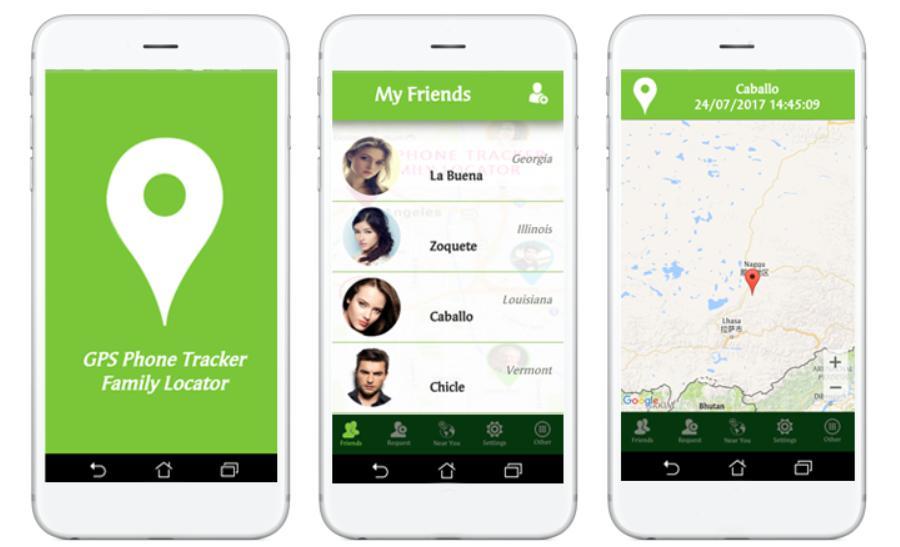 Phần mềm theo dỗi điện thoại android GPS Phone Tracker