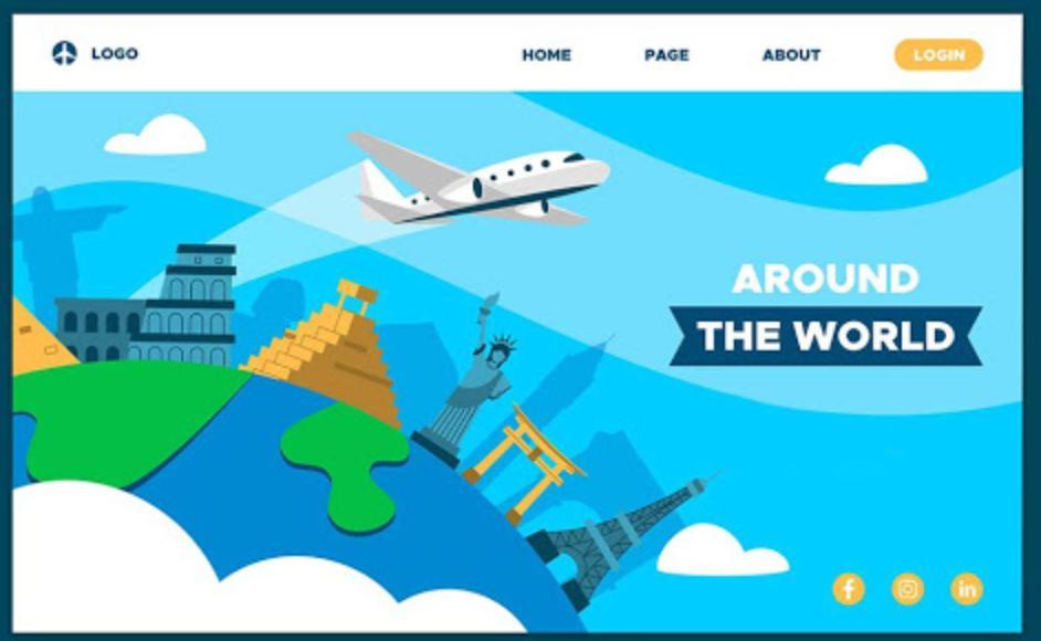 Vài trò thiết kế website du lịch