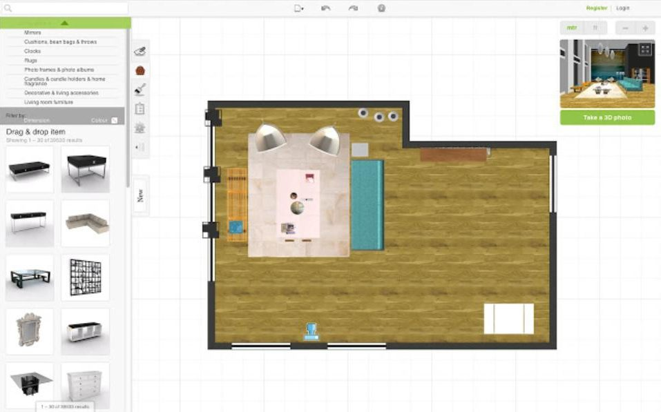 Roomstyler 3D Home Planner: Phần mềm thiết kế nội thất 3D hàng đầu