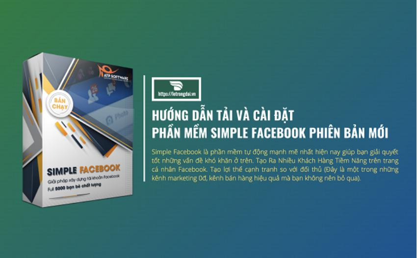 Phần mềm SMS Marketing Simple Facebook ATP Software