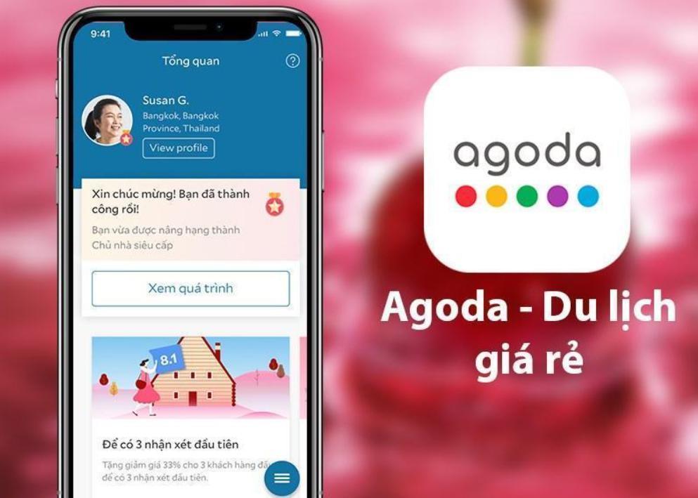Agoda: Ứng dụng đặt phòng online chuyên nghiệp