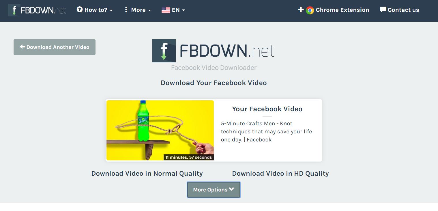 down video facebook