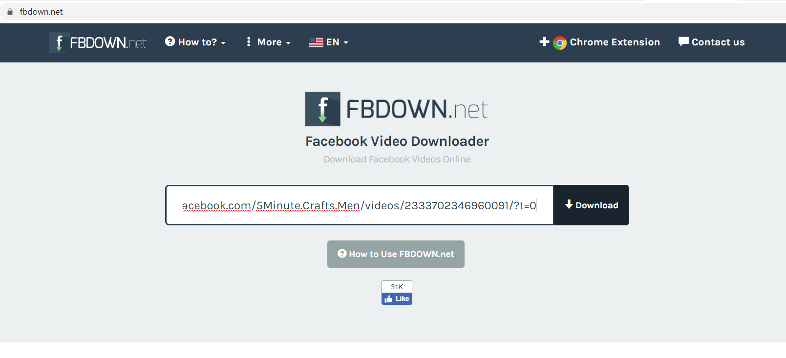 fbdown