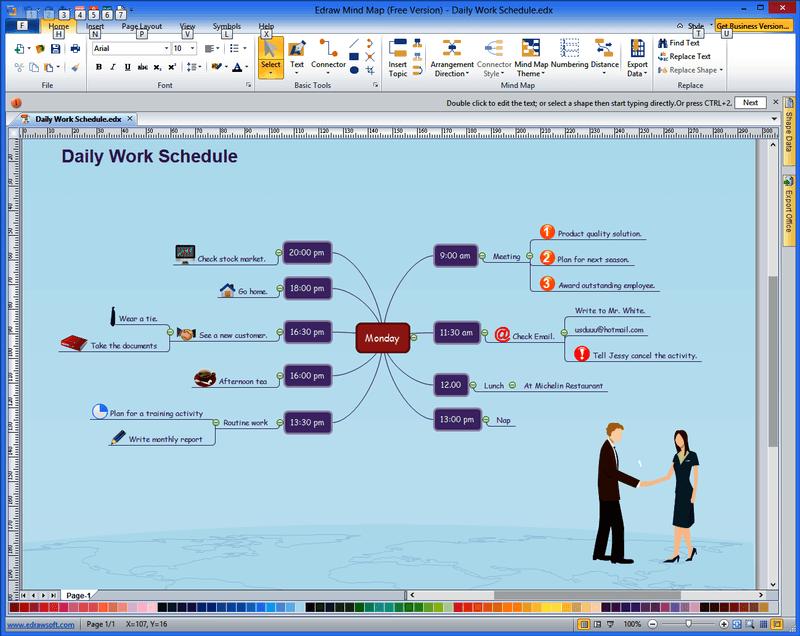 Phần mềm Endraw Mind Map