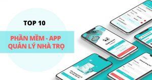 Top 10 app - phần mềm quản lý nhà trọ trên di động