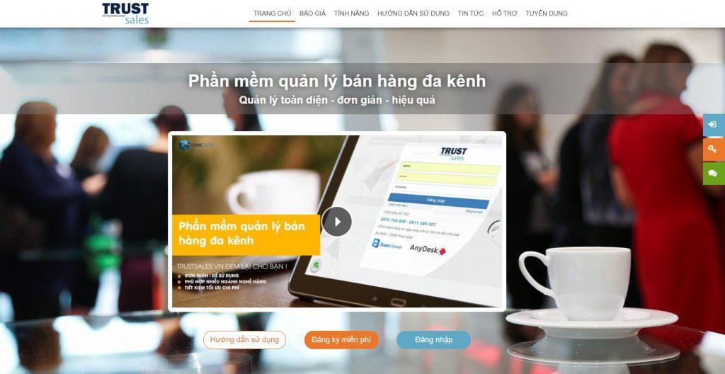 Phần mềm quản lý Fanpage TrustSales