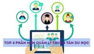 Top 4 phần mềm quản lý trung tâm du học