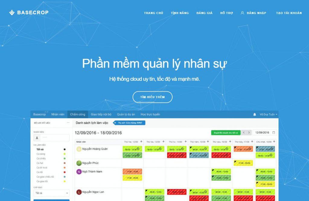 top phần mềm quản lý nhân sự