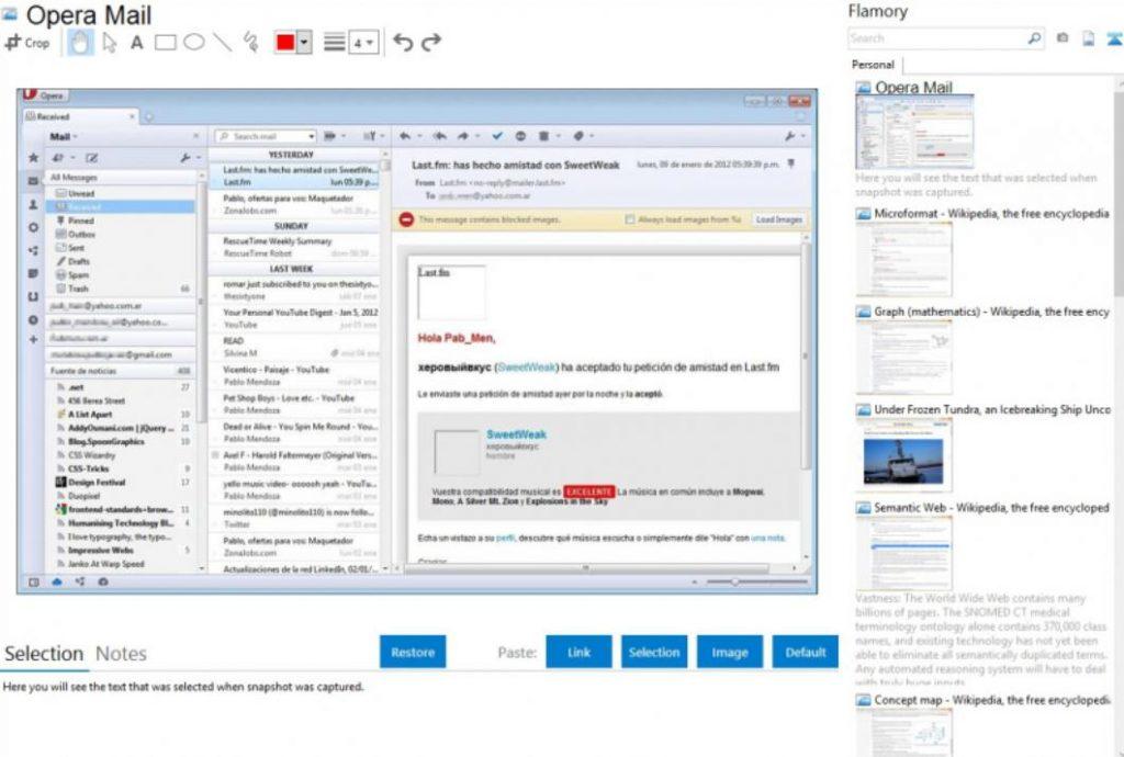 phần mềm quản lý email chuyên nghiệp opera mail
