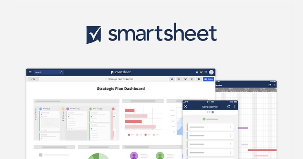 Công cụ tạo dự án đơn giản - Smartsheet