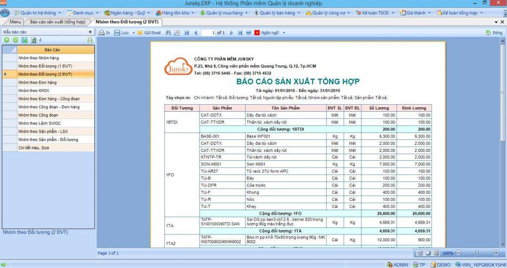 phần mềm nhập dữ liệu Junsky.ERP