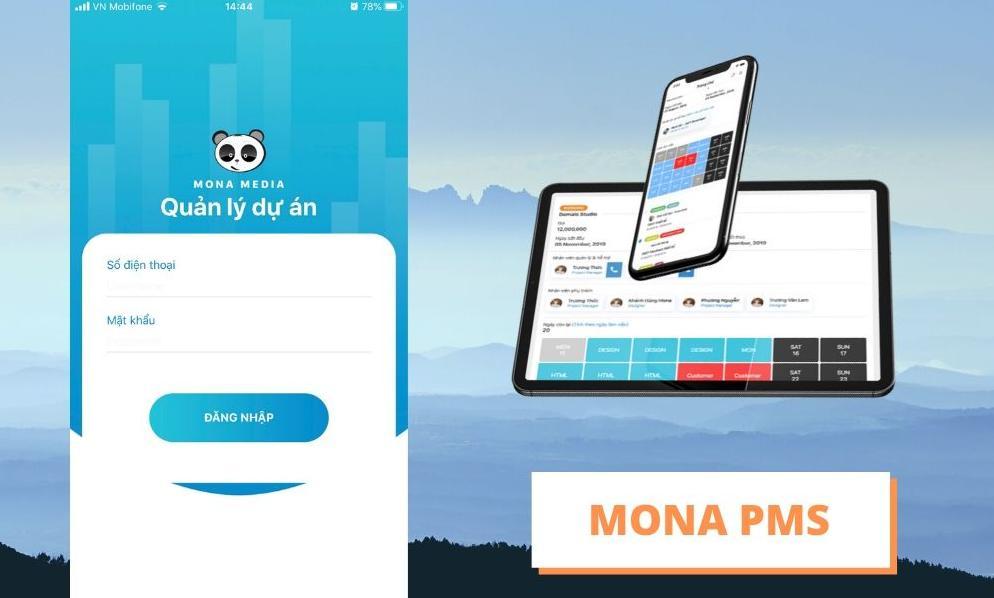 Phần mềm quản lý khách hàng Mona Media