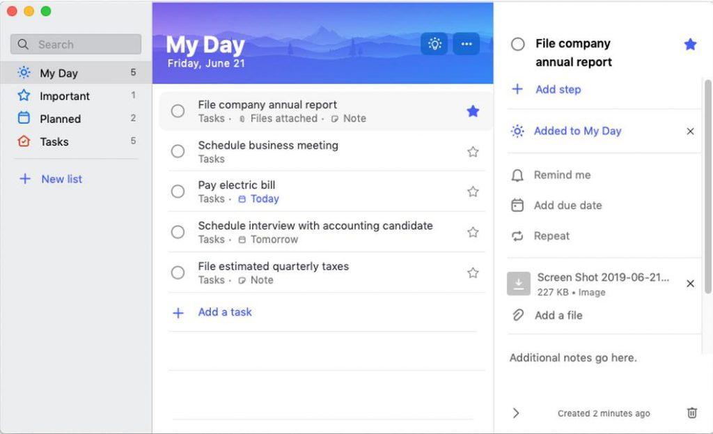 Ứng dụng làm việc nhóm chuyện nghiệp Microsoft To-Do