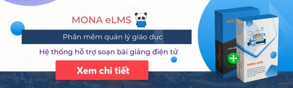 Phần mềm elearning Mona eLMS