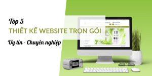 Top 5 công ty thiết kế website trọn gói uy tin, ở TP.HCM