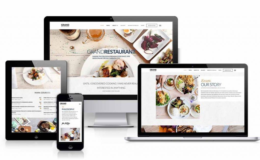 Vai trò và lợi ích việc thiết kế website nhà hàng