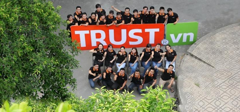 Công ty thiết kế web nội thất chuyên nghiệpTrust.vn