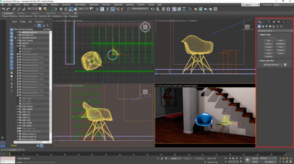 Autodesk 3Ds Max: Phân mềm thiết kế đồ họa 3D chi tiết