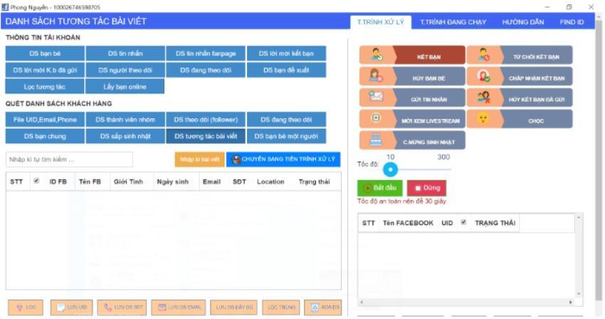 Simple Ads: Phần mềm hỗ trợ bán hàng Facebook