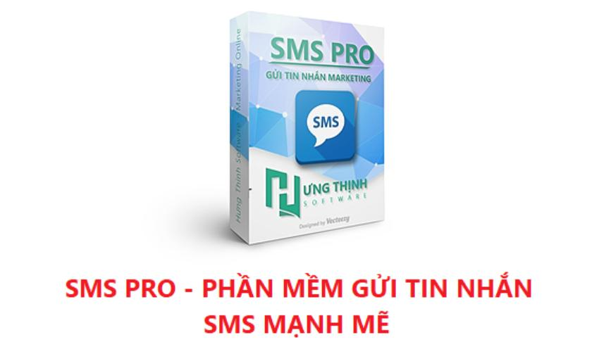 Phần mềm gửi tin nhắn sms hàng loạt SMS PRO