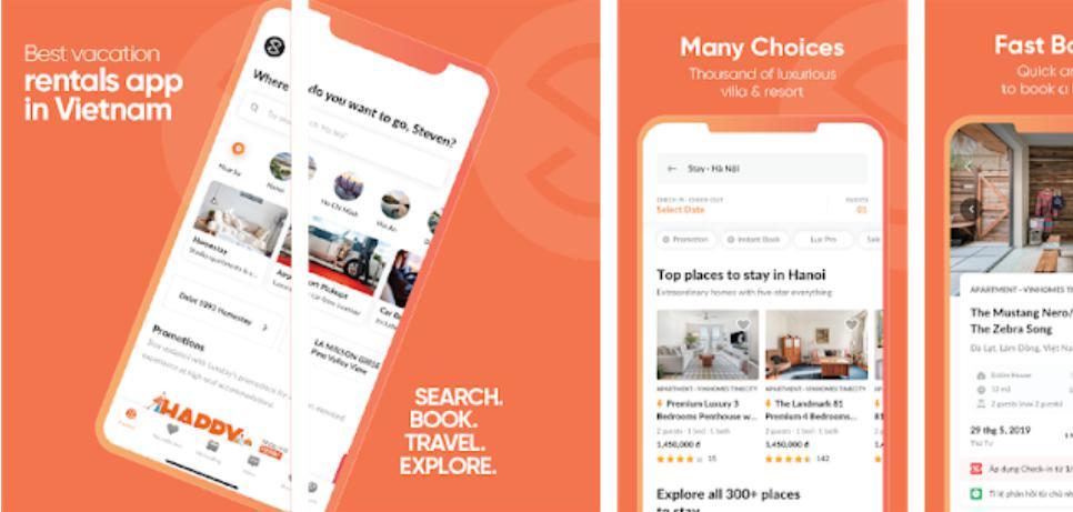 Luxstay: Trang web thuê nhà giá rẻ