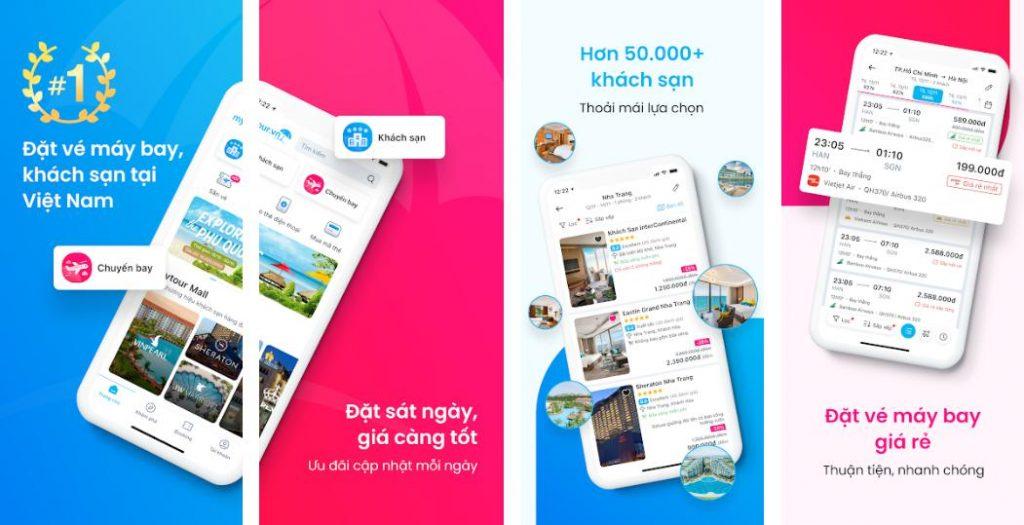 Mytour: Website tìm khách sạn gần nhất nhanh chóng