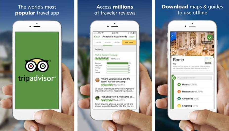 TripAdvisor: Ứng dụng tìm phòng khách sạn giá rẻ