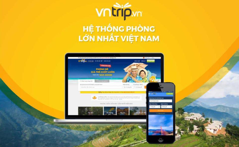 VNTrip: Dịch vụ đặt phòng khách sạn online