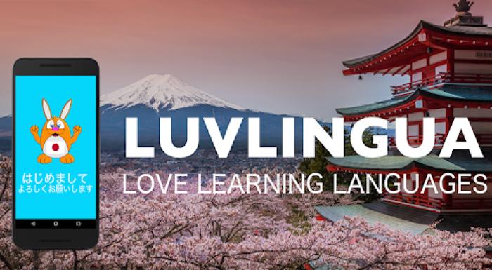 App học tiếng Nhật - LuvLingua